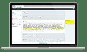 Word App Editor Screen