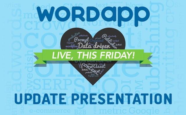Wordapp update presentation banner