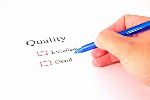 Quality score in Wordapp