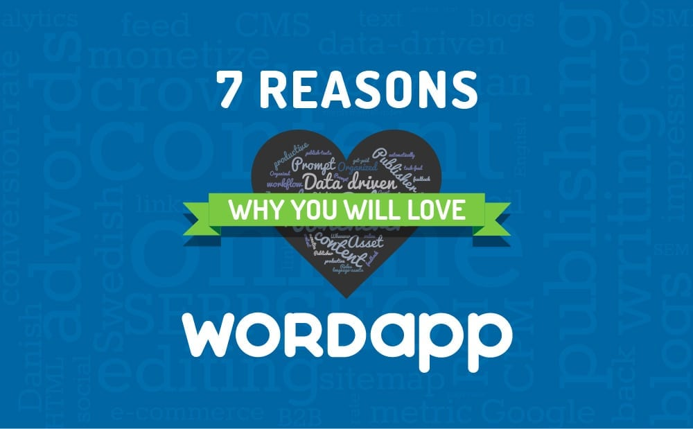 Seven reasons you will love Wordapp