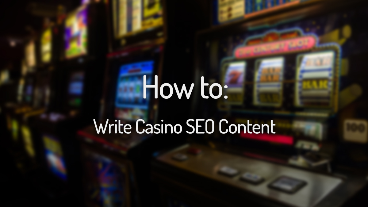 Wordapp Casino SEO