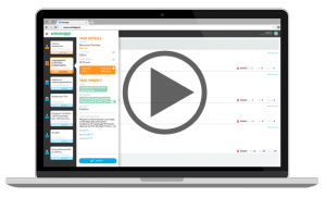 Screenshot Wordapp with PlayButton