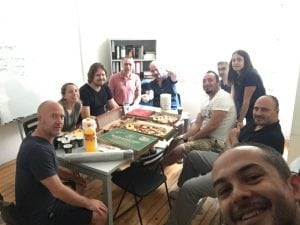 Wordapp Pizza Celebration