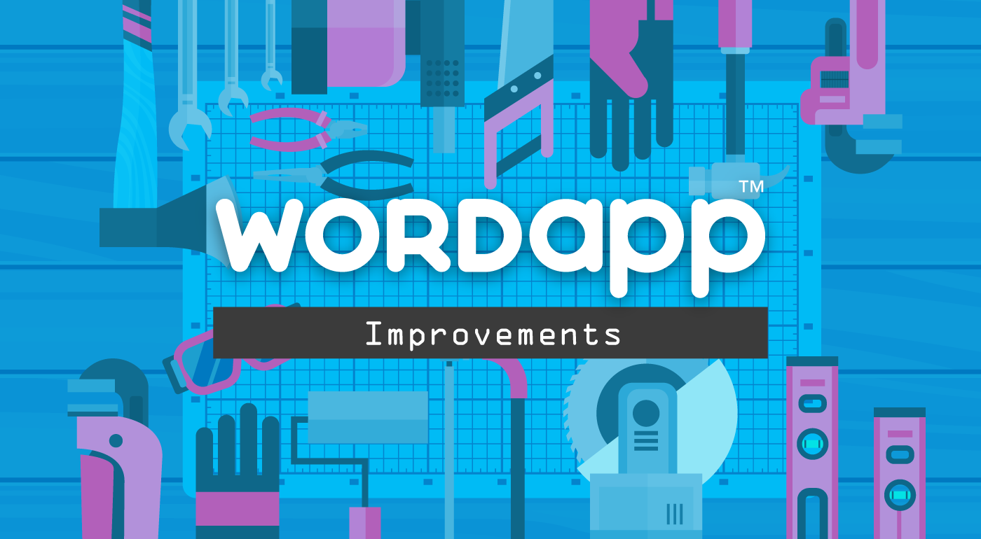 Wordapp Improvements