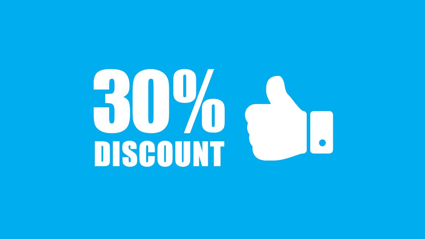 30% off Wordapp product descriptions