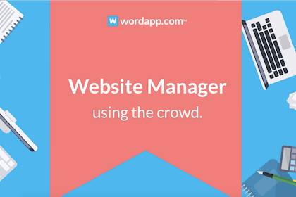 Website manager by Wordapp.com