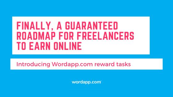 Introducing Reward Tasks: Making money online as a freelancer